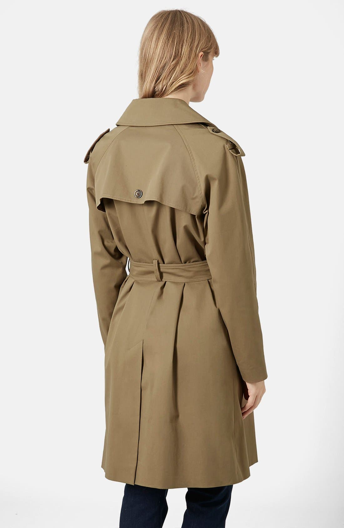 ,                             'Scout' Double Breasted Trench Coat,                             Alternate thumbnail 2, color,                             200