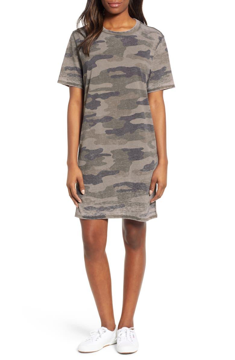 Lucky Brand Camo T Shirt Dress Nordstrom