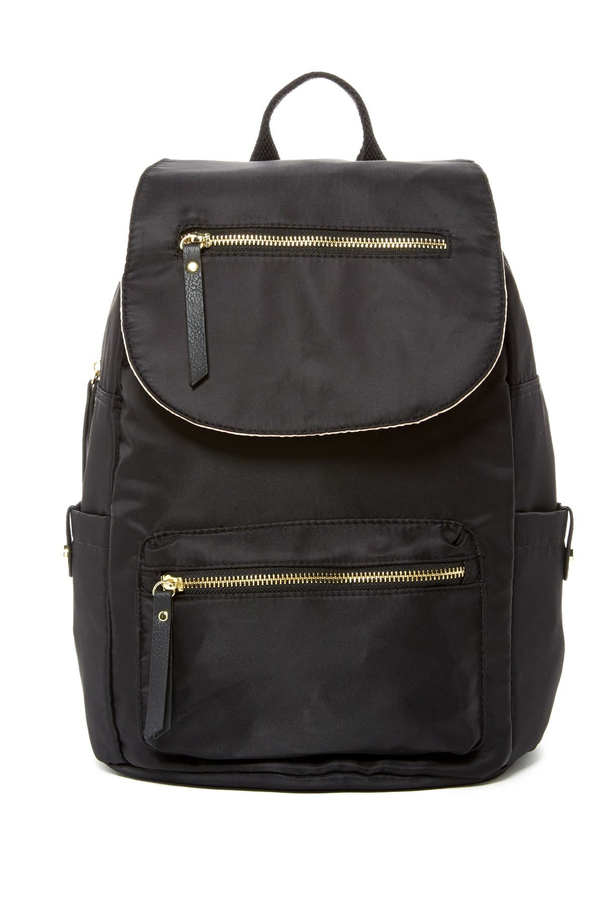 Image of Madden Girl Proper Flap Nylon Backpack