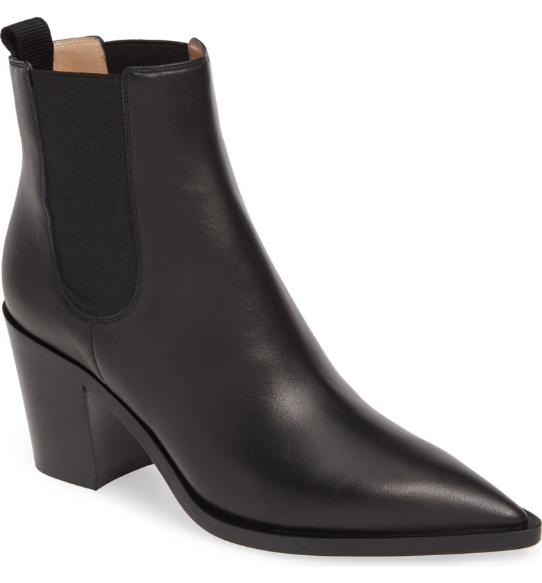 Pointy Toe Chelsea Boot by Gianvito Rossi