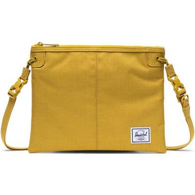Herschel Supply Co. Alder Pouch Crossbody - Yellow