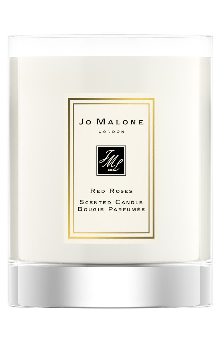 JO MALONE LONDON<SUP>™</SUP> Red Roses Travel Candle, Main, color, NO COLOR