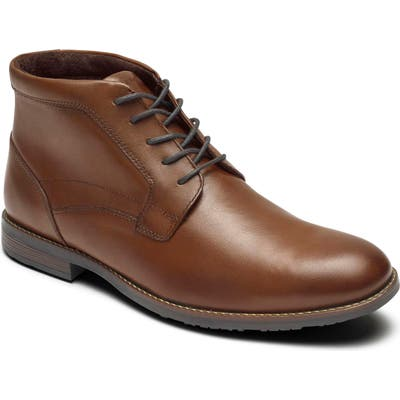 Rockport Dustyn Waterproof Chukka Boot- Brown