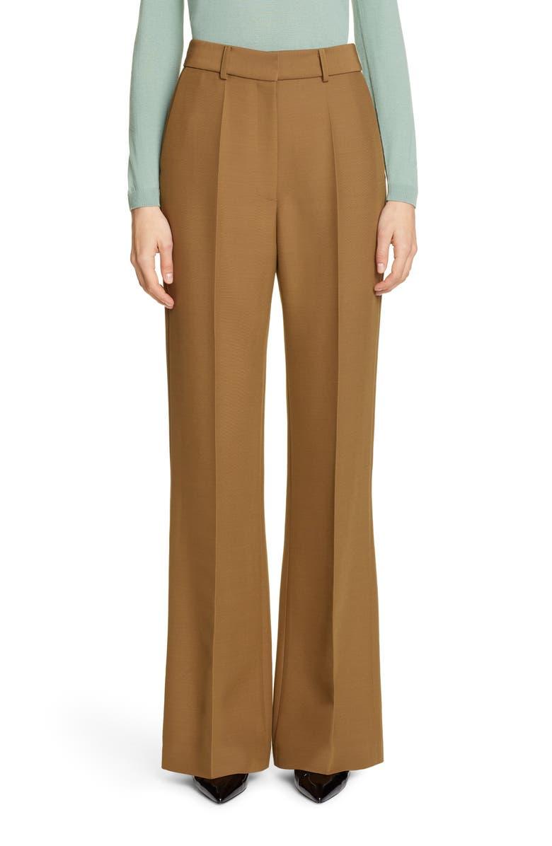 PARTOW Emilio Wide Leg Pants, Main, color, CARAMEL