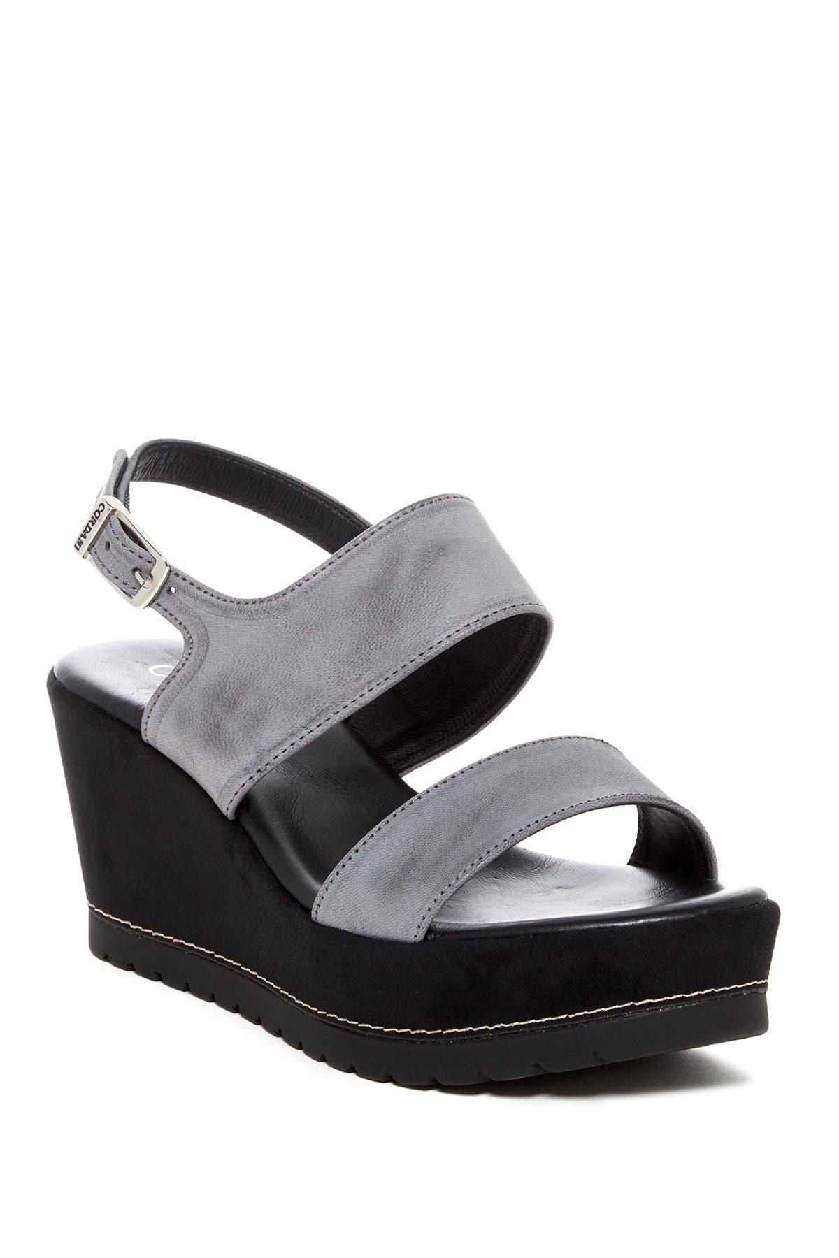 Image of CORDANI Denver Slingback Wedge Sandal