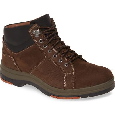 Johnston & Murphy Cahill Waterproof Boot- Brown