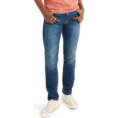 Madewell Athletic Slim Everyday Flex Jeans, Blue