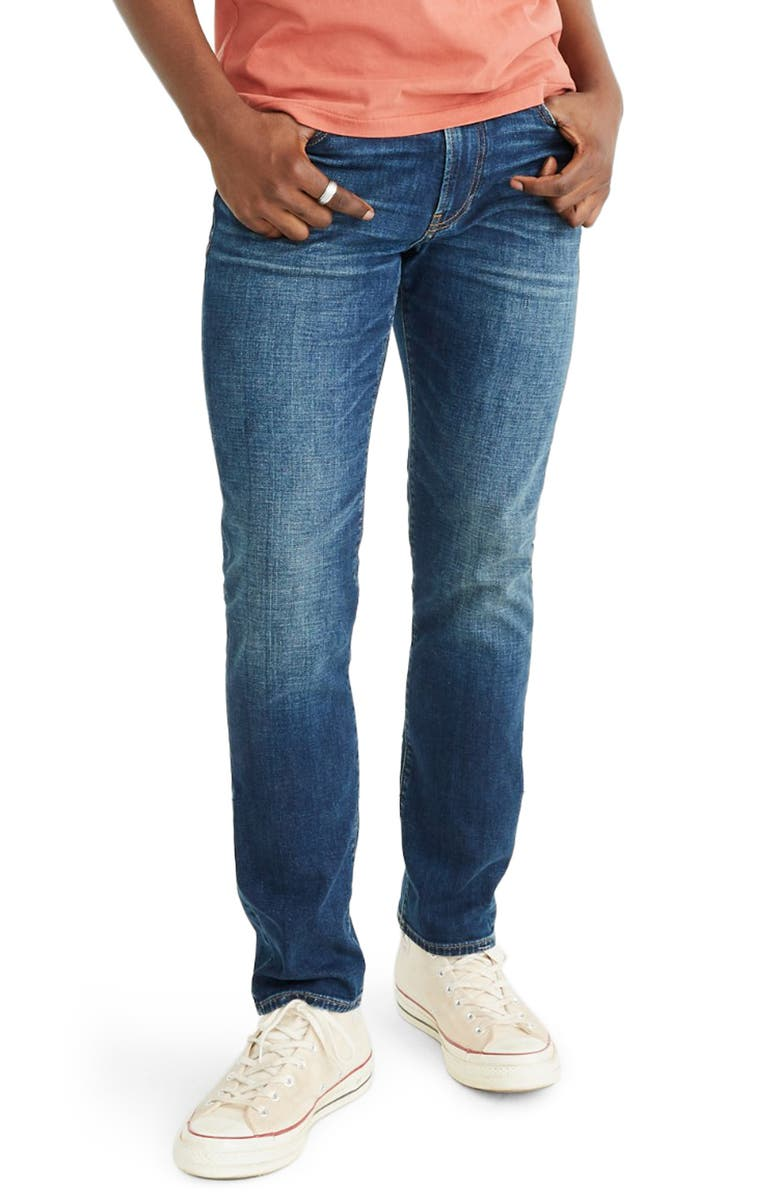 MADEWELL Athletic Slim Everyday Flex Jeans, Main, color, CHISWICK