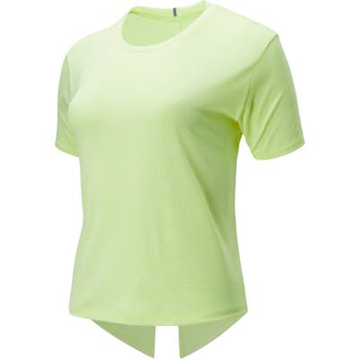 New Balance Speed Jacquard Shirt, Yellow