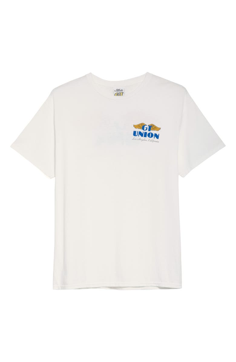 OUR LEGENDS Wings T-Shirt, Main, color, WHITE