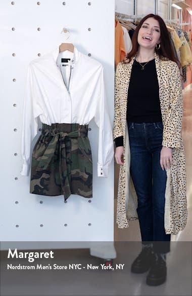 Niccola Mixed Media Long Sleeve Dress, sales video thumbnail