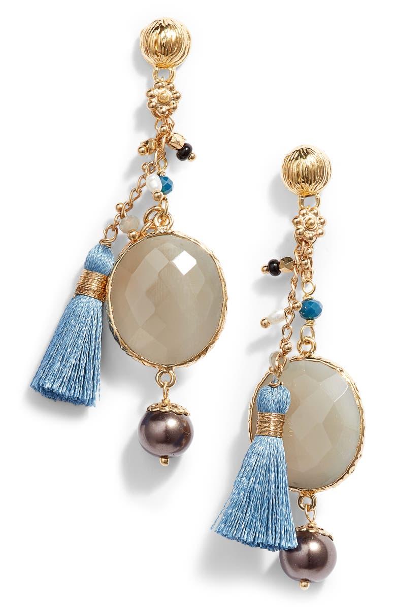 GAS BIJOUX Serti Pondicherie Earrings, Main, color, 100