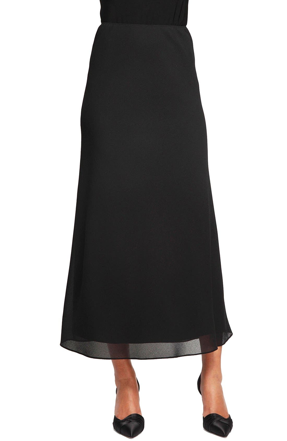 Georgette A-Line Skirt