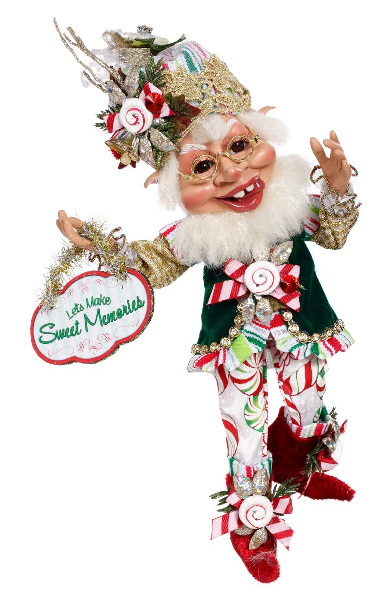 MARK ROBERTS Candymaker Elf, Main, color, WHITE SMALL