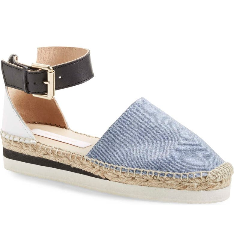 SEE BY CHLOÉ 'Glyn' Espadrille Flat, Main, color, 460