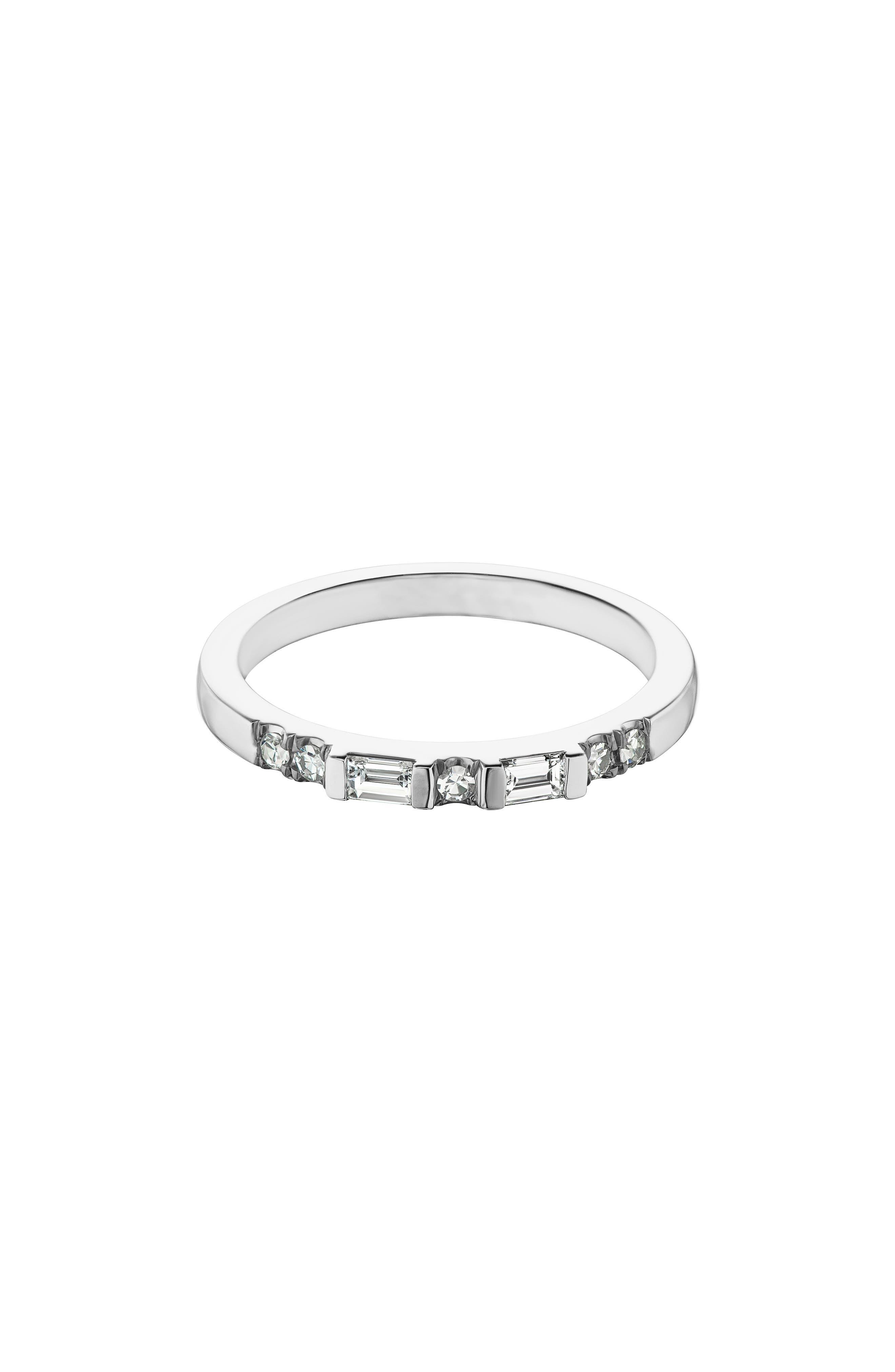 Lyra Diamond Band Ring