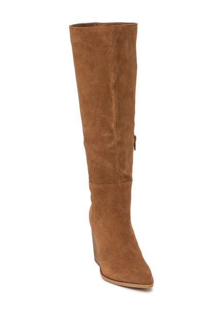 Image of Steve Madden Letty Suede Knee High Boot