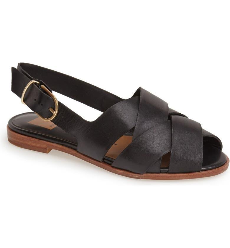 DOLCE VITA 'Bay' Leather Sandal, Main, color, 001