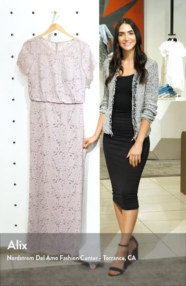 Blouson Lace Gown, sales video thumbnail