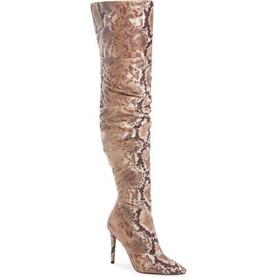 Jessica Simpson Ladee Over The Knee Boot, Beige