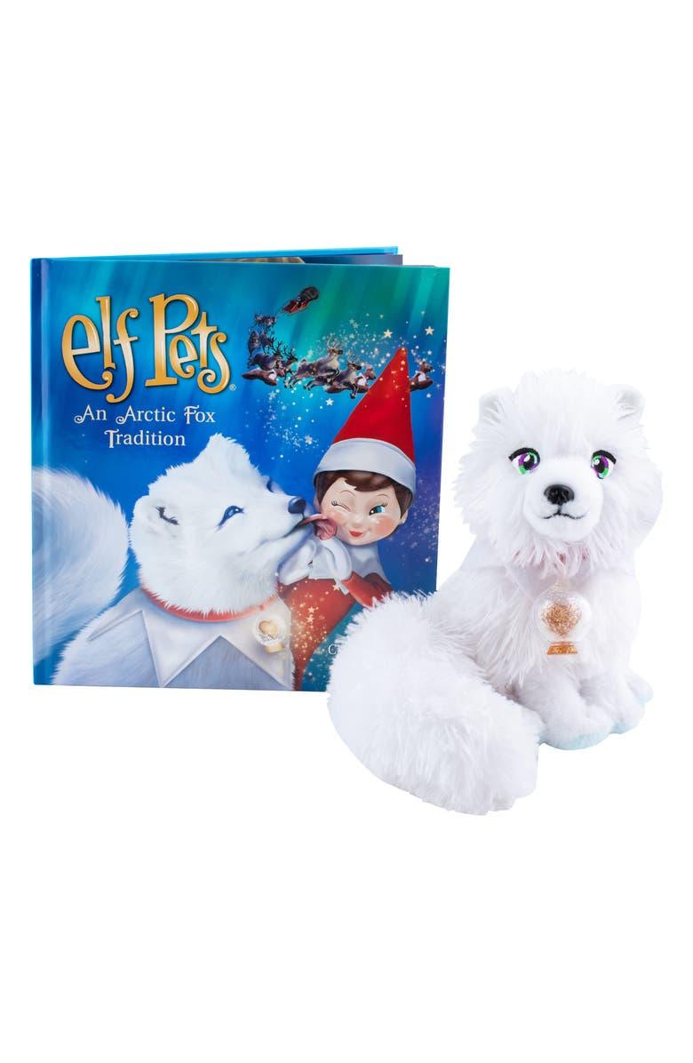 ELF ON THE SHELF <sup>®</sup> 'Elf Pets: An Arctic Fox Tradition' Book & Stuffed Animal, Main, color, 100