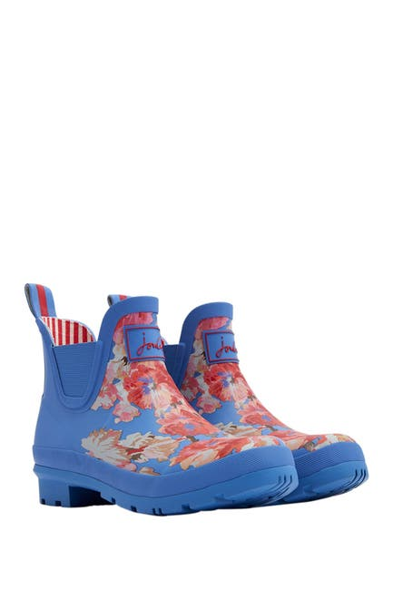 Image of Joules Wellibob Short Height Welly Rain Boot