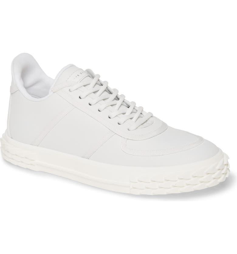 GIUSEPPE ZANOTTI Low Top Sneaker, Main, color, WHITE/ WHITE