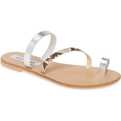 Steve Madden Rank Slide Sandal, Brown