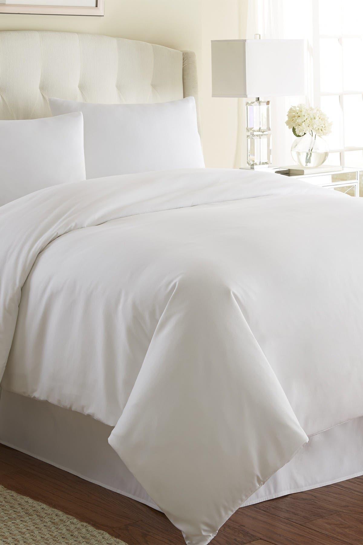 Image of SOUTHSHORE FINE LINENS Full/Queen Southshore Fine Linens Vilano Springs Duvet Cover Sets - Bright White