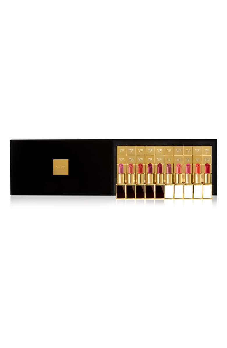TOM FORD Boys & Girls Clutch Size 50-Piece Lip Color Set, Main, color, 000