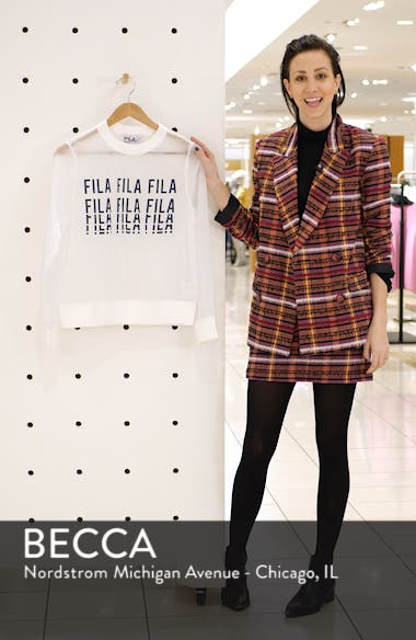 Sol Sheer Woven Sweatshirt, sales video thumbnail