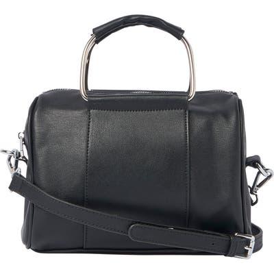 Urban Originals Hey World Vegan Leather Crossbody Bag - Black