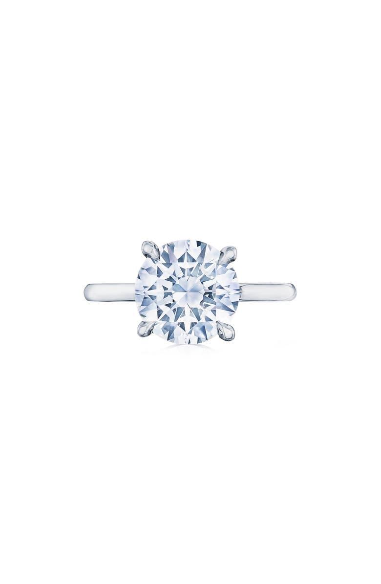 KWIAT Diamond Solitaire Platinum Ring, Main, color, PLATINUM