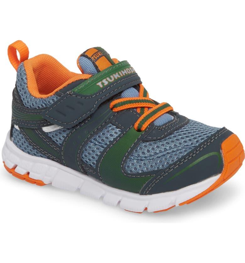 TSUKIHOSHI Velocity Washable Sneaker, Main, color, CHARCOAL/ SEA