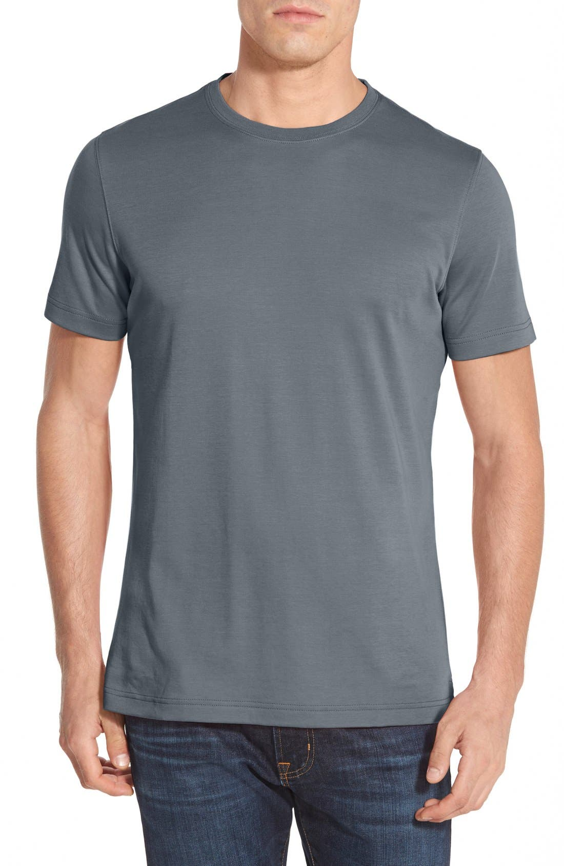 ,                             Georgia Crewneck T-Shirt,                             Main thumbnail 166, color,                             120