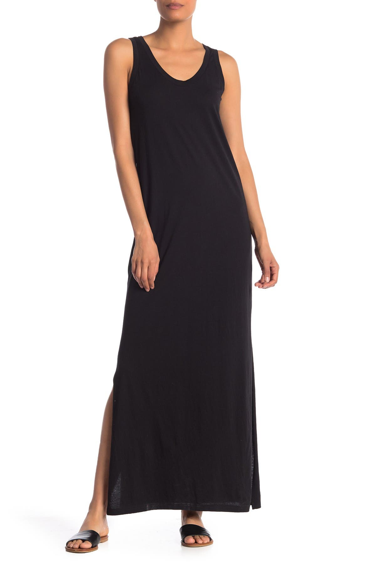 Image of SUSINA Cinch Back Maxi Dress