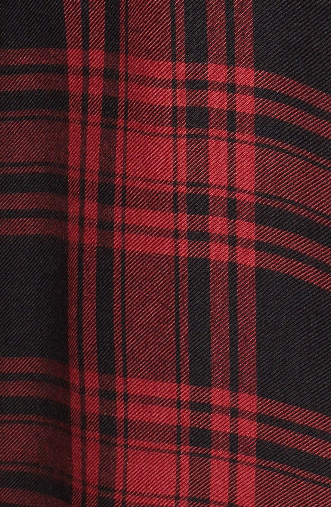 ,                             Plaid Flannel Boyfriend Shirt,                             Alternate thumbnail 13, color,                             603