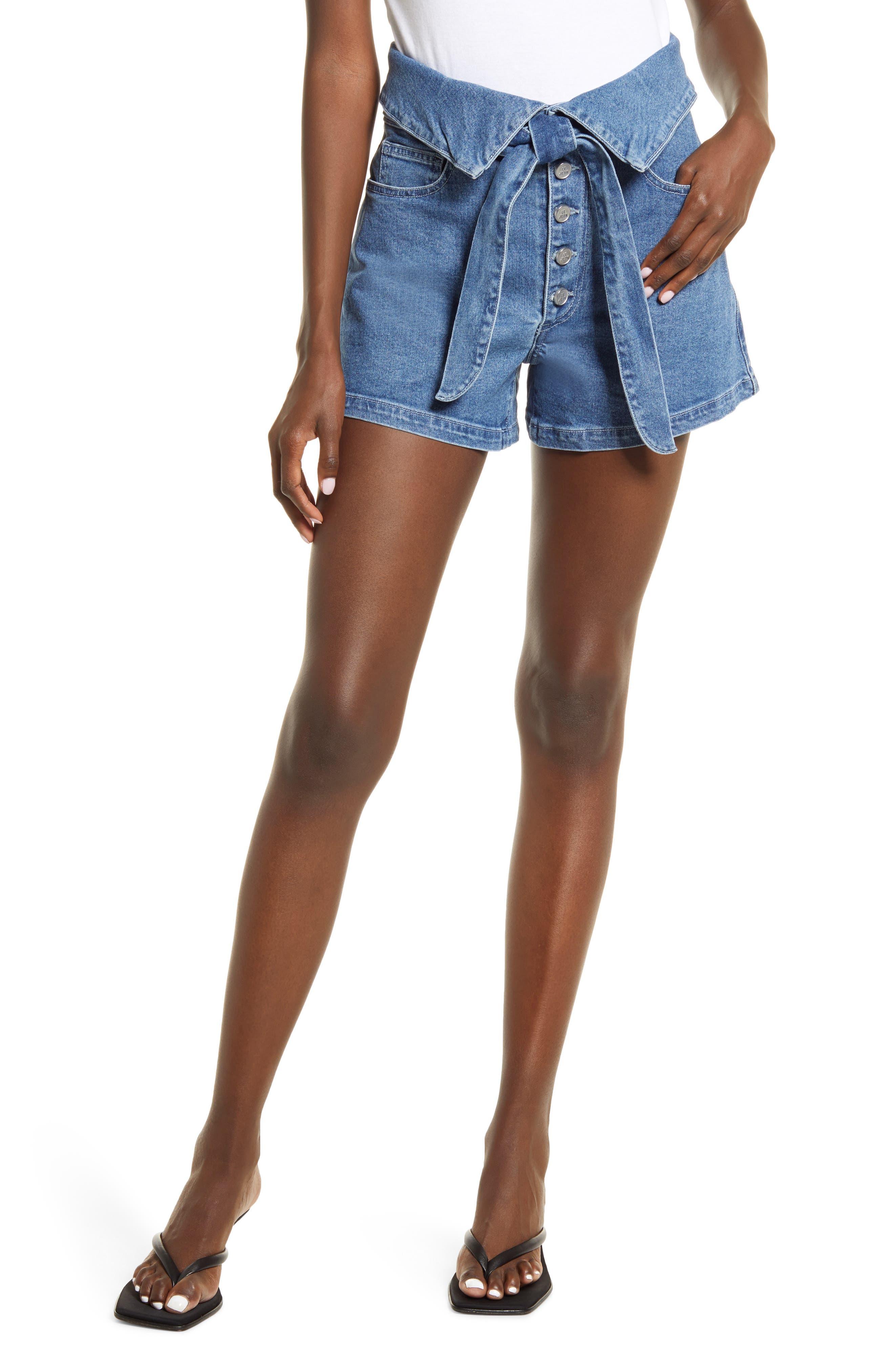 Lola Foldover High Waist Shorts