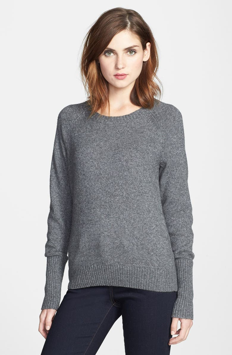 HALOGEN<SUP>®</SUP> Open Crewneck Sweater, Main, color, 020