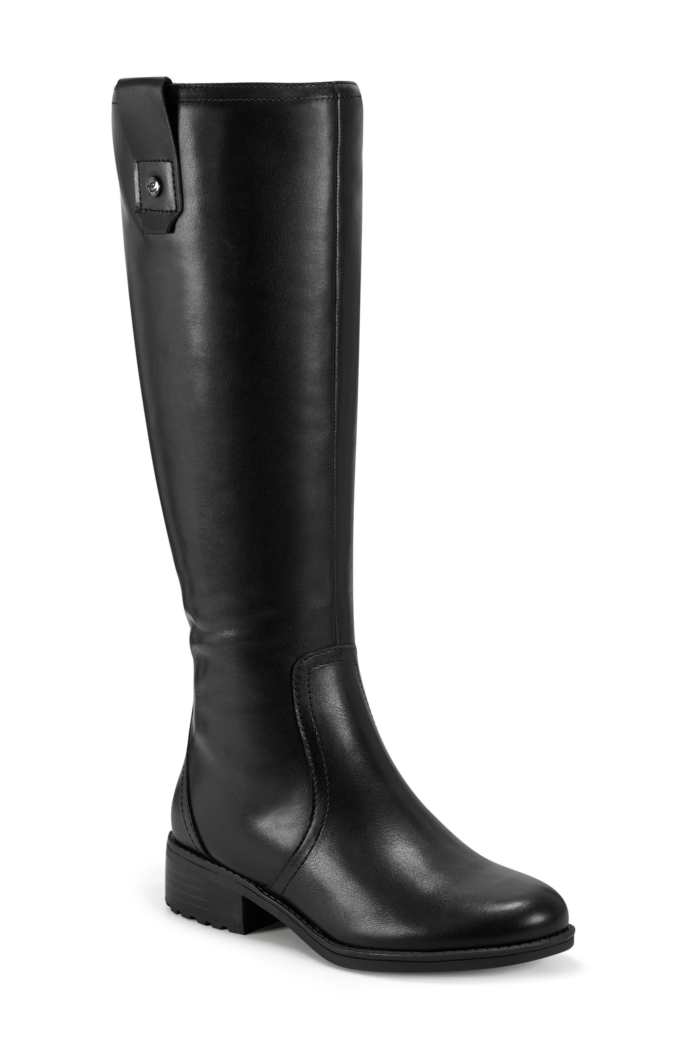 Rhonda Water Resistant Knee High Boot