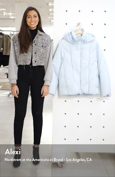 Hooded Down Puffer Jacket, sales video thumbnail