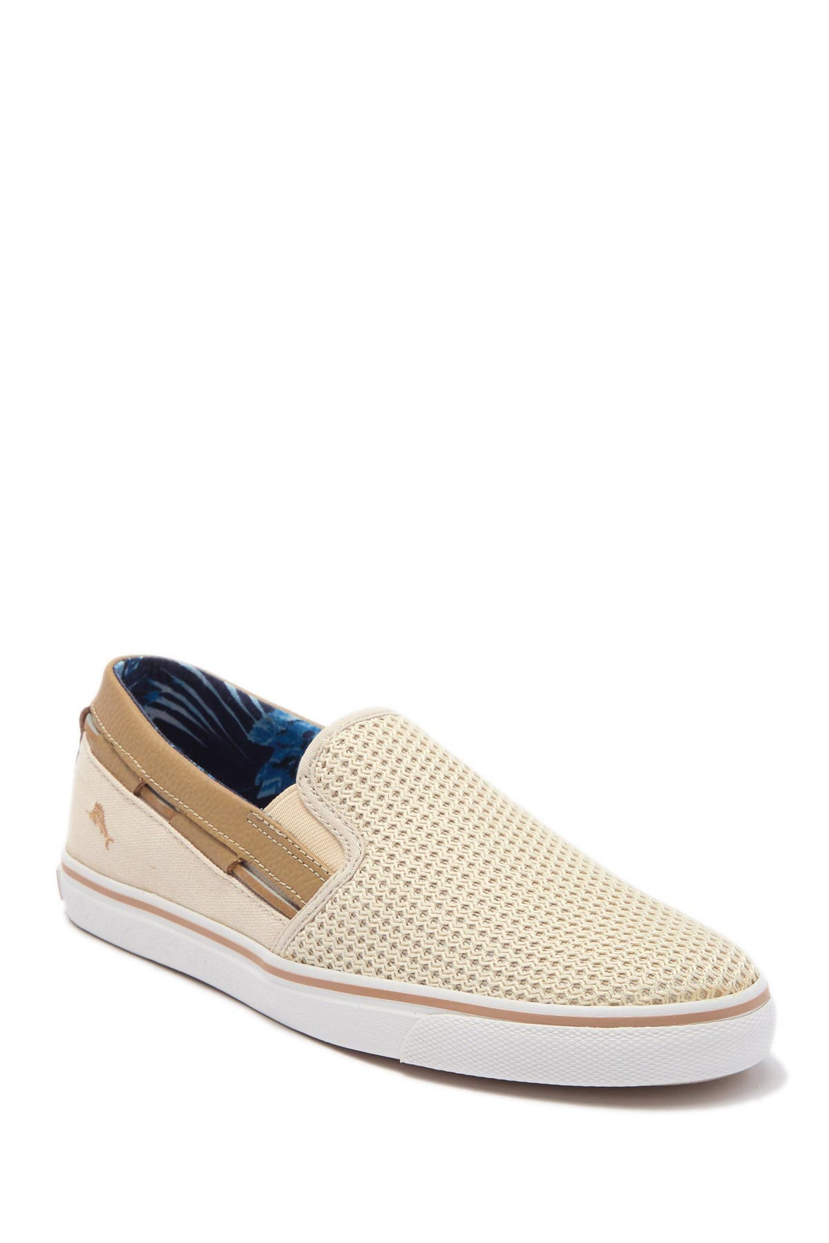 Image of Tommy Bahama Jaali Perforated Slip-On Sneaker