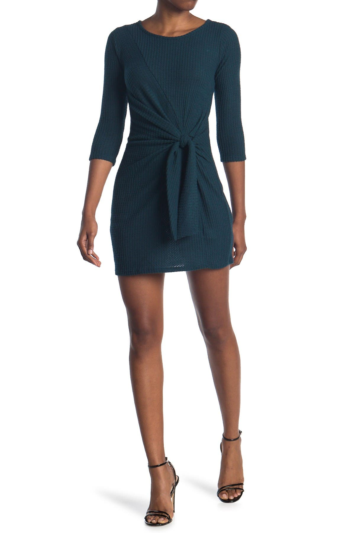 Image of BAILEY BLUE Knot Front Dress