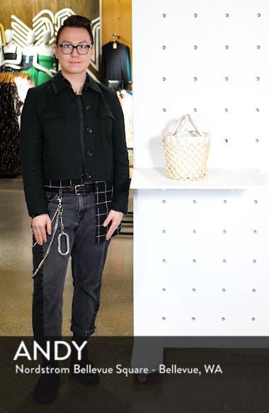Moreau Beaded Caged Bucket Bag, sales video thumbnail