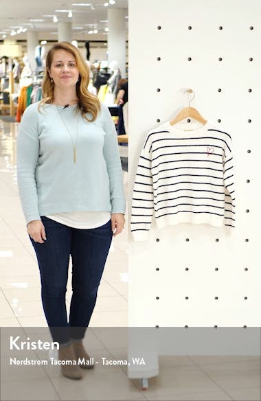 Between the Lines Stripe Sweater, sales video thumbnail