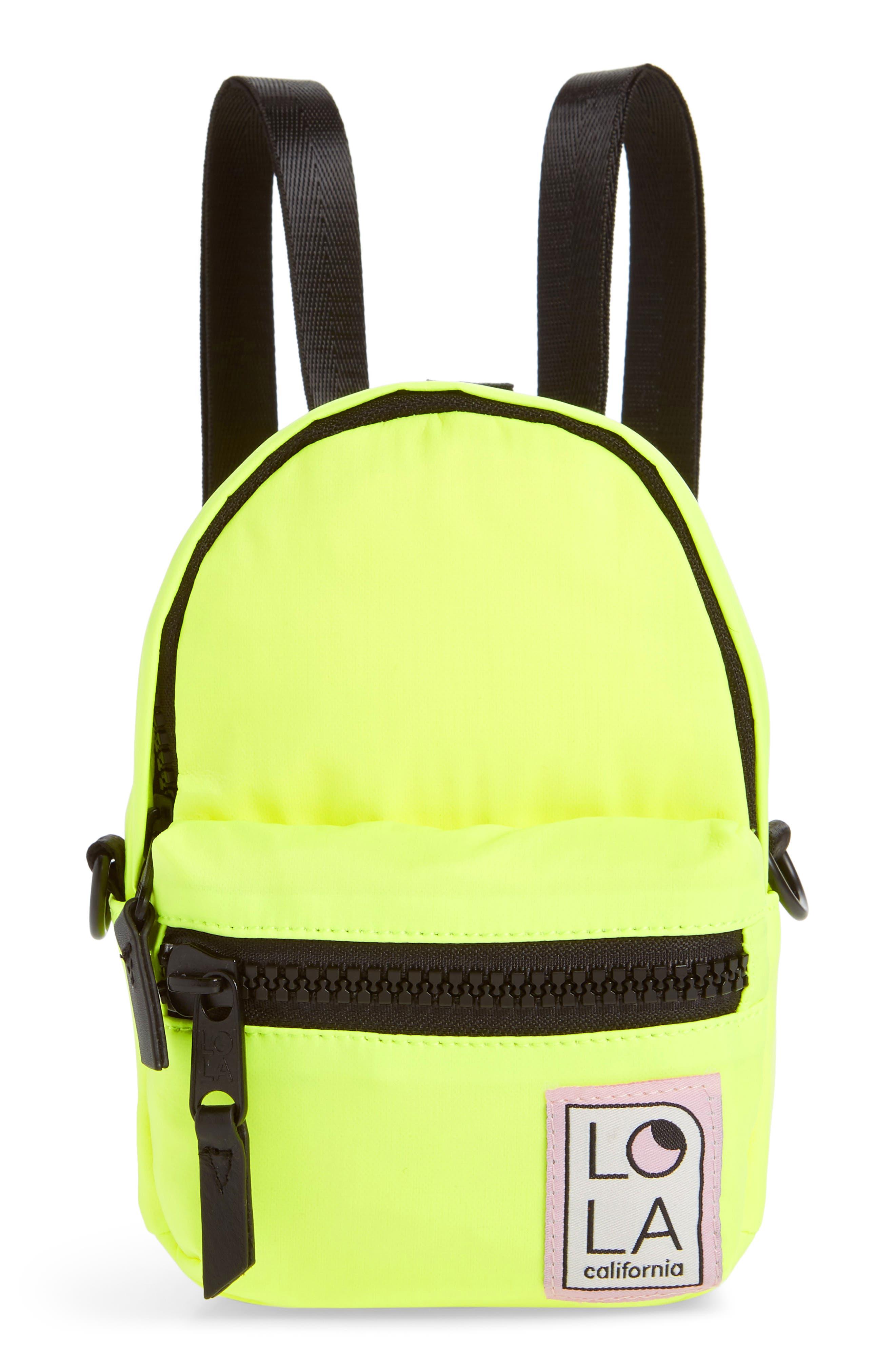Lola Los Angeles Stargazer Mini Convertible Backpack - Yellow