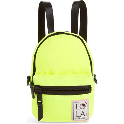 Lola Los Angeles Stargazer Mini Convertible Backpack - Yellow