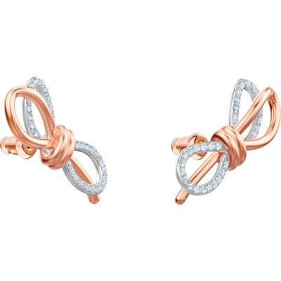 Swarovski Lifelong Bow Stud Earrings