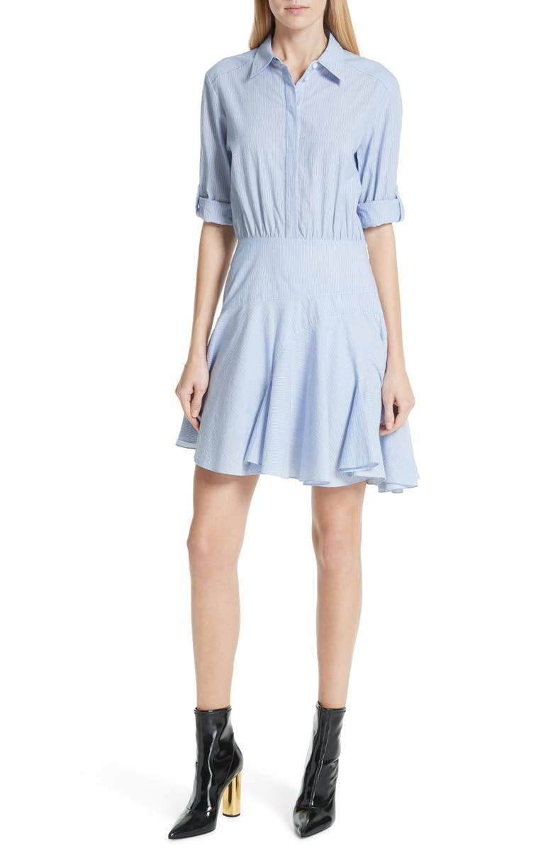 JASON WU Stripe Shirting Dress, Main, color, 400