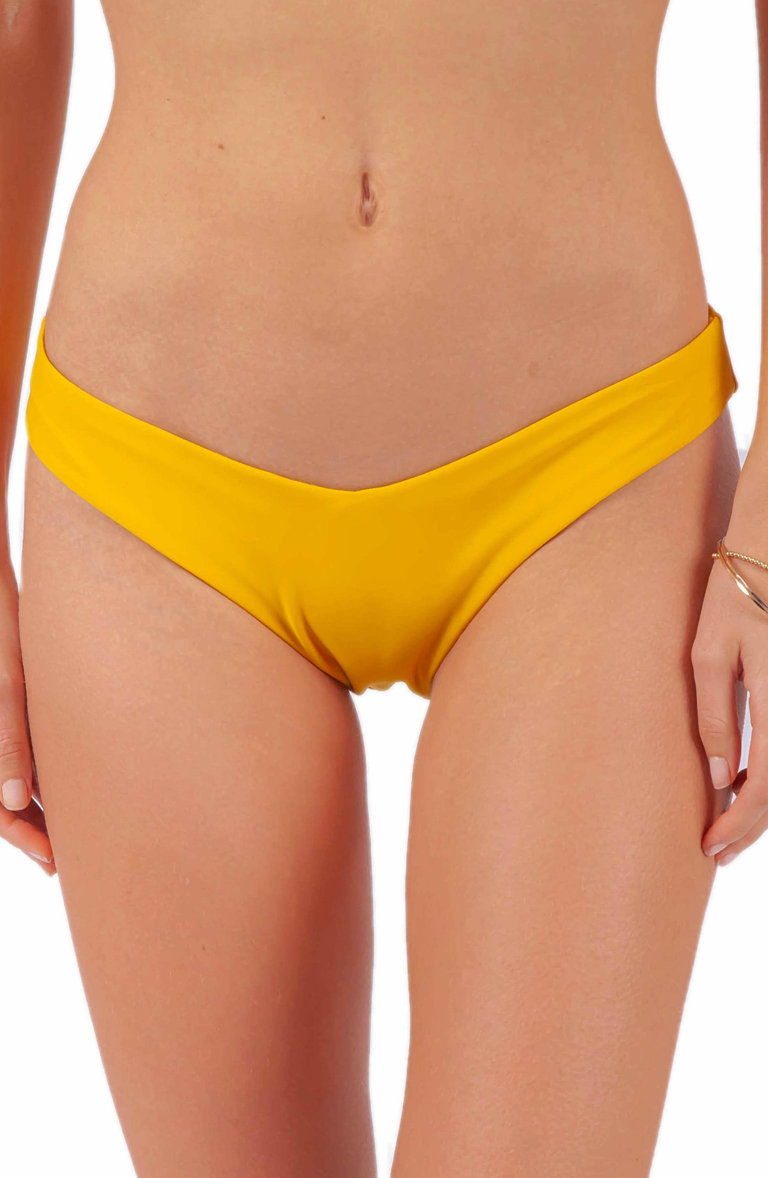 Rip Curl Premium Surf Bikini Bottoms, Yellow